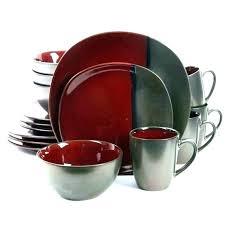 red vanilla dinnerware sets and white . Red Vanilla Dinnerware Piece Set White