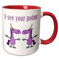 Our unicorn ceramic coffee mugs come in two sizes (11 oz. Unicorn Mug Wayfair