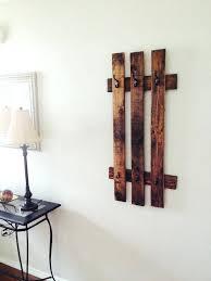 wooden pallet coat rack diy standing ideas