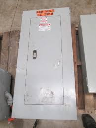 siemens 3 phase electrical enclosure fuse box panel switch 42 siemens 3 phase electrical enclosure fuse box panel switch 42 contacts 480v southern surplus inc