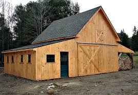 Horse Shed Designs Applewood All Purpose Pole Barn Plans 3 Sets Of Complete