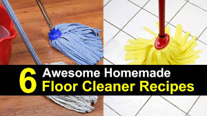 mix up a batch of this all natural floor cleaner for squeaky clean disinfected floors