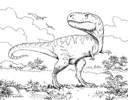 Dinosaur Coloring Pages To Print At Getdrawingscom Free For