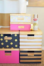 ikea office storage boxes. Plain Office Kate Spade Box DIY IKEA Hack To Ikea Office Storage Boxes D