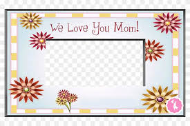 mother s day clipart frame mother s