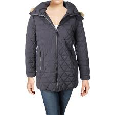 marc new york womens plus tobi winter down quilted coat 0