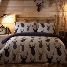 highland stags bedding set debenhams flannelette beddingwinter bedroomstag headhome collectionsbedding setscomforterdebenhamsbed sets highlands