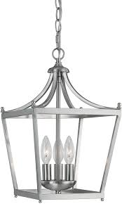 capital lighting 4036bn stanton brushed nickel foyer light fixture loading zoom