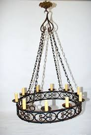 chandeliers large iron chandelier large antique french wrought iron chandelier 2 large rustic wrought