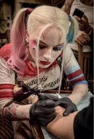 Margot Robbie Reveals Origin Of Harley Quinns Tattoos In Suicide