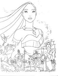 Small Picture Pocahontas coloring pages all characters ColoringStar