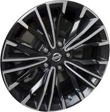 Nissan Maxima Bolt Pattern Best ALY48 Nissan Maxima Wheel Charcoal Machined 48RA48E