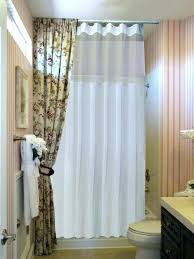 floor to ceiling shower curtain ceiling mount curtains shower curtain bathroom decoration hanging to floor floor