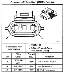 i need a wiring diagram crankshaft sensor starter plug