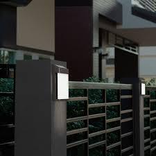 gtx brands solar post lights 4 pack