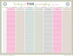 University Schedule Template Weekly Timetable Kak24taktk 9