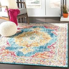 teal orange rug teal amp orange vintage distressed medallion area rug teal red orange rug