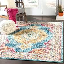 teal orange rug teal amp orange vintage distressed medallion area rug teal red orange rug