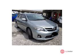 2010 Toyota Corolla Altis for sale in Malaysia for RM55,800 | MyMotor