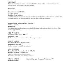 Cna Resume Sample Staggering Job Description For Elegant Templates
