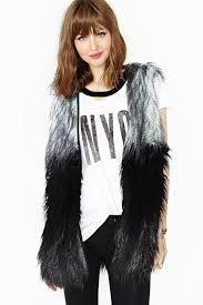 best winter coats the furry vest
