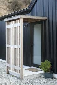 barn style front doorFront Doors  Barn Style House Black Corrugated Iron Wooden
