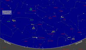 Constellation Sky Chart Sky Map Star Chart December 2018 Old Farmers Almanac
