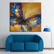 hot sell product hand painted butterfly beautiful wall paintings for living room wall paint design on beautiful wall art for living room with hot sell product hand painted butterfly beautiful wall paintings for