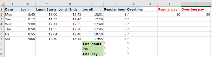 wages register in excel how to quickly calculate the overtime and payment in excel