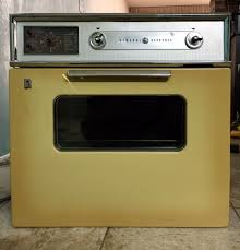 vintage 1960s era general electric 26 wall oven cooktop stove for