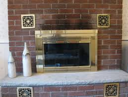 clean brick fireplace soot