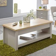 valencia wooden lift up coffee table in