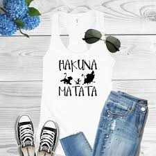 personalized hakuna matata women family t shirts bride groom t shirt honeymoon gifts marriage tshirt tanks tops tees in party favors from home garden on