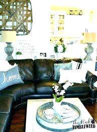 brown couch living room decor brown sofa decor living room with leather furniture brown sofa decor couch rooms decorating ideas red brown couch living room