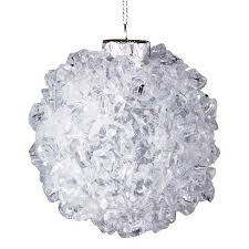 8 5 cm rock ice ball ornament decoration display
