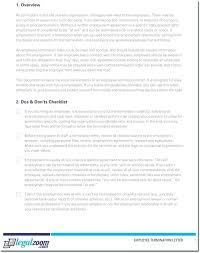 Staff Termination Letter Template Employee Example Seasonal