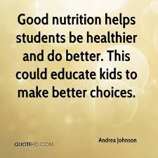 Quotes About Better Nutrition