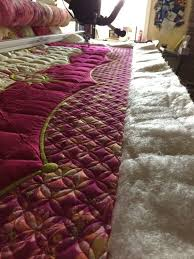15 best Longarm Quilting images on Pinterest   Fabric panels ... & Award winning quilter Lisa Calle shares a tip for better quilting with the BERNINA  Longarm machines Adamdwight.com