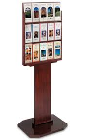 Flyer Display Stands Wooden Brochure Display Stand SingleSided with 100 Adjustable 9