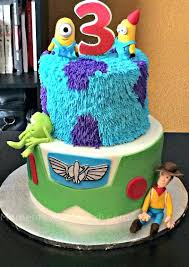 Cake Ideas For Kids The Toy Story Plus Monsters Inc Despicable Me