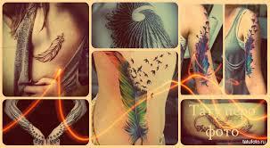 тату для девушек перо значение значение татуировки перо тату