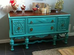 turquoise painted furniture ideas. turquoise painted antique buffet furniture ideas i
