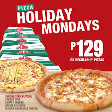 Manila Shopper: Papa John's Pizza Holiday Mondays Promo: Aug-Nov 2016