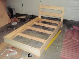 how to build twin frames designs bunk make size upholstered outstanding diy bed frame