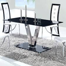 dining table w black top by global furniture usa d551dt global furniture dining table glass global