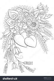 Small Picture Valentine Flower Coloring Pages Coloring Coloring Pages