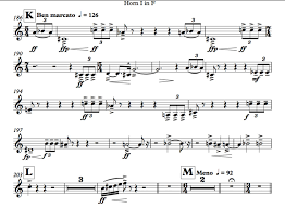 Horns No Key Signatures Please Orchestration Online