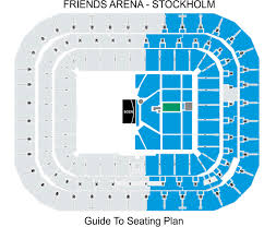 Sleep Train Arena Seating Chart Concert Friends Arena Stockholm