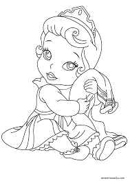 Starting from snow white (though persephone was first to try) up to anna and elsa (frozen), be it official like belle, cinderella, or unofficial like vanellope and tinkerbell, all disney princesses are always sweet and cute. Baby Disney Princesses Coloring Pages