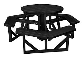 polywood park 36 round picnic table